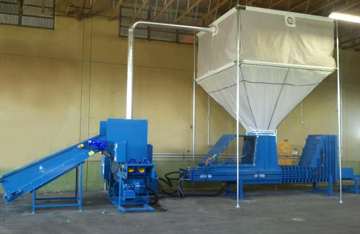 Recycling Equipment Foam Styrofoam Densifiers Home For Foam